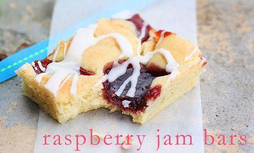 Raspberry Jam Bars - Half Sheet Pan