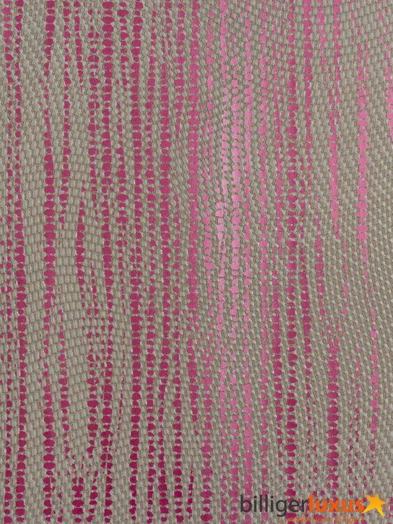 Marburg Tapeten Villanova : Villanova 51048 snake stripes grey pink Wallpapers Marburg Villanova