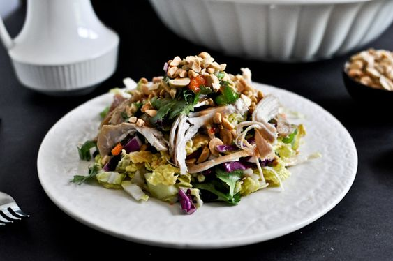 thai crunch chicken salad