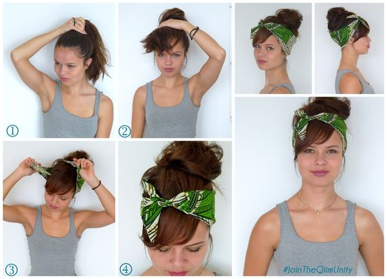 How to fake a bang and look fabulous !