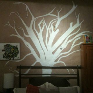 Tree on the wall