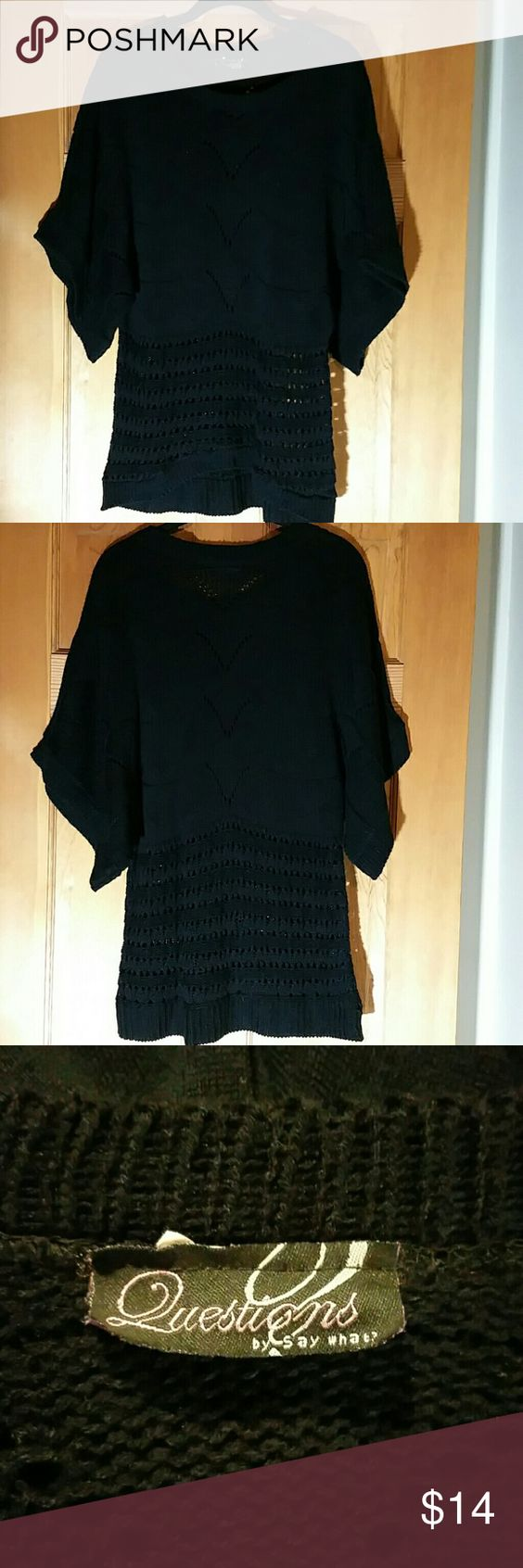 Sweater - Black Sweater - Black Questions  Sweaters