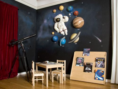 Beetling 3 D Wall Art Transforms Kids Rooms Kid Solar