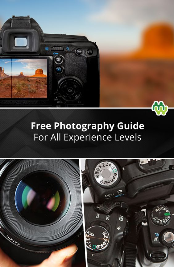This is a really great guide for beginner and advanced photographers, and best of all, unlike most photography classes, it's free!