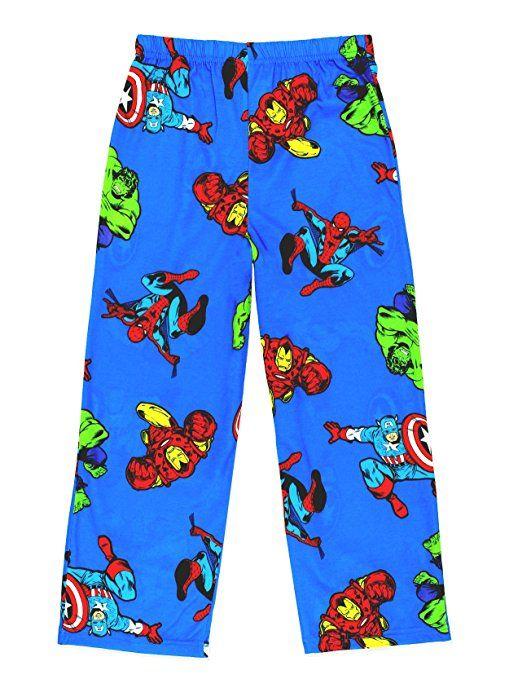 Marvel Comics Captain America Avengers Super Hero Graphic Sleep Lounge Pants