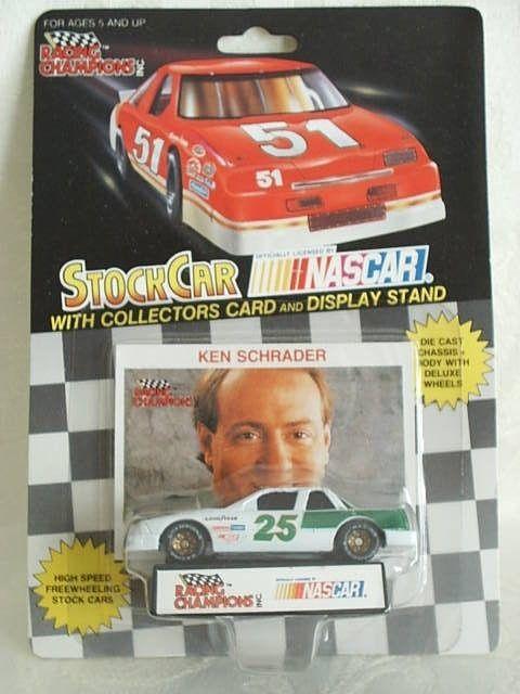 New 1994 Racing Champions 1:64 NASCAR Ken Schrader Kodiak Paint Scheme Lumina
