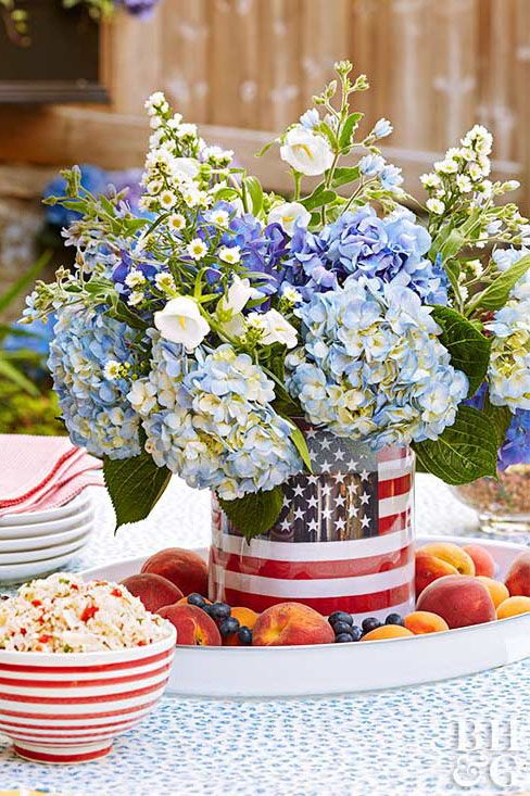 Memorial Day Flower Ideas 4th Of July