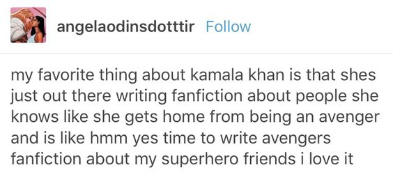 Ms marvel Kamala khan