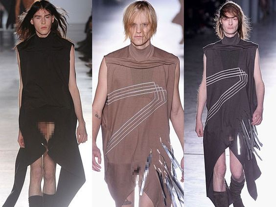 rick owens controversial