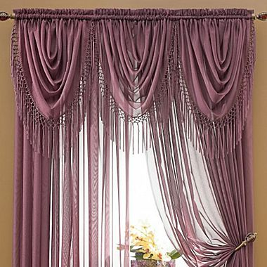 Snow Voile Window Coverings Jcpenney Bedroom Reno Pinterest Valance Curtains The O 39 Jays