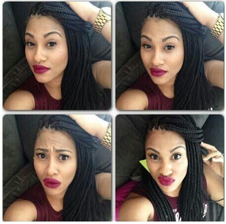 Sensational Box Braids Protective Hairstyles And Braid Hairstyles On Pinterest Hairstyles For Women Draintrainus