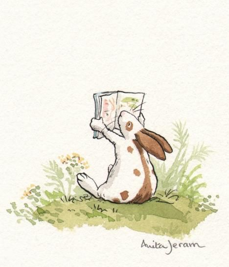 Children's Book Illustration ||| Really simple but striking style, soft colours, watercolours