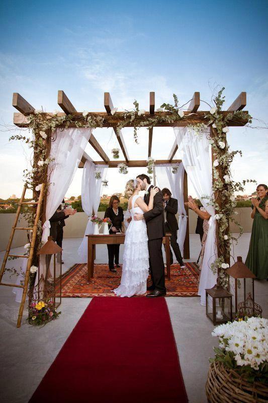 Baldachin Casamento Rustico Simples Barato Id Kits