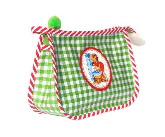 """(Kinder-) Kulturtasche, """"Heija Puppeija"""" von Goldschnittchen auf DaWanda.com"""