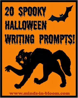 """halloween expository writing prompts Halloween is a favorite among students of all ages whether you want to take a few minutes to have students """"quick-write"""" or spend 20-30 minutes writing their answers to the writing prompts."""