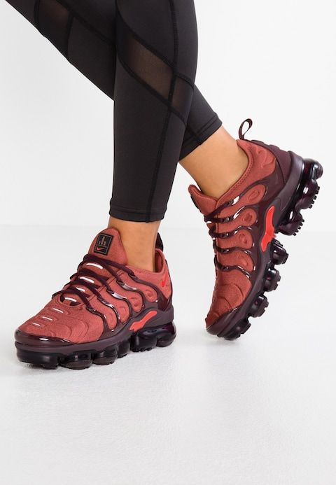 VAPORMAX PLUS Trainers burnt orangehabanero red