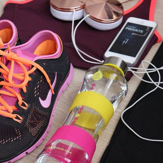 *gym essentials* keep your favourite EQUA bottle next to you while exercising and stay hydrated and stylish!: