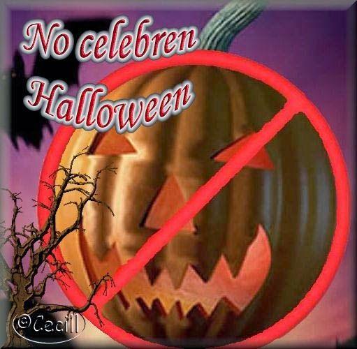 Imágenes de Cecill: ¡No celebren Halloween, no se asocien a una fiesta...