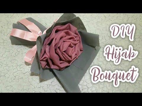 Cara Membuat Buket Hijab Part 2 How To Wrapping Hijab Bouquet Youtube Proyek Menjahit Bunga Buatan Bunga Buatan Sendiri