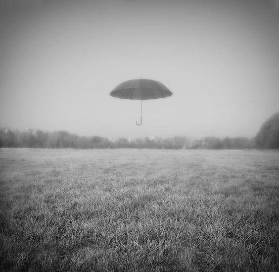umbrella #photography FOG. quiet.