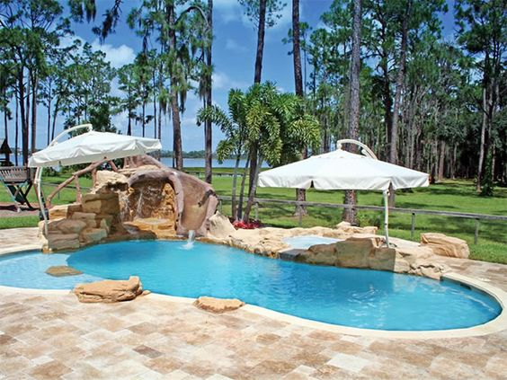 Diy Swimming Pool Homemade Swimming Pools And Swimming Pools On Pinterest