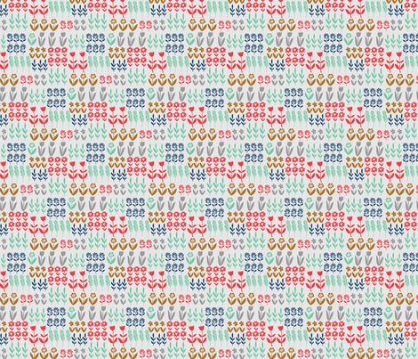 tulip garden fabric by sonny