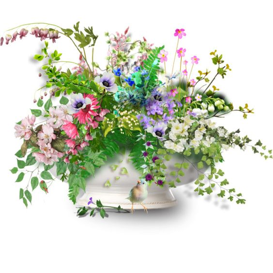 Spring Flower arrangement: