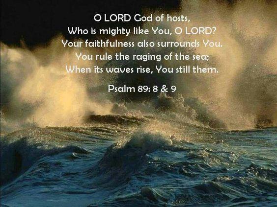 Psalm 89:8-9