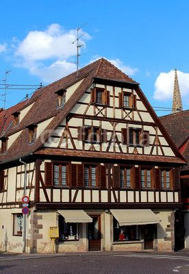 #Maison #alsacienne à #colombages #Obernai #house #alsace- photo © Jonathan Stutz