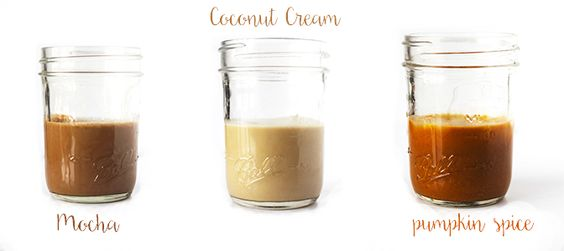 Make your own coffee creamer that's free of preservatives and chemicals! all-natural and extra creamy.
