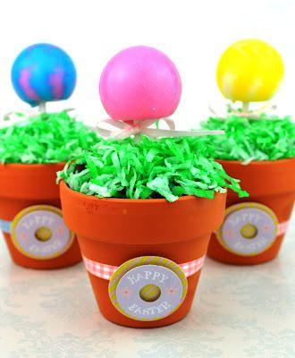 Magic jelly bean lollipop garden