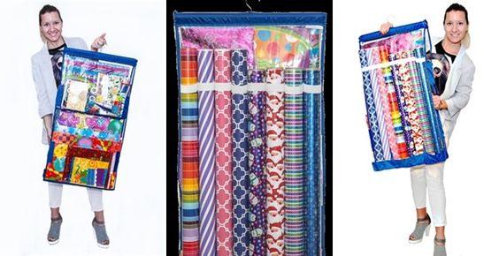 Seriously BEST Gift Wrap Storage Organizer ever!! - Wrap iT Buddy!!