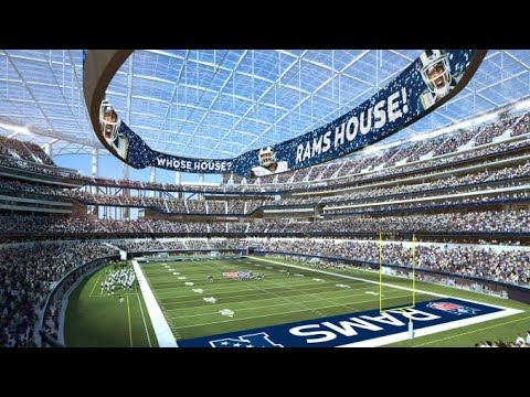 Roof Oculus Sofi Stadium Inglewood California In 2020 Los Angeles Rams Stadium Nfl Football Stadium