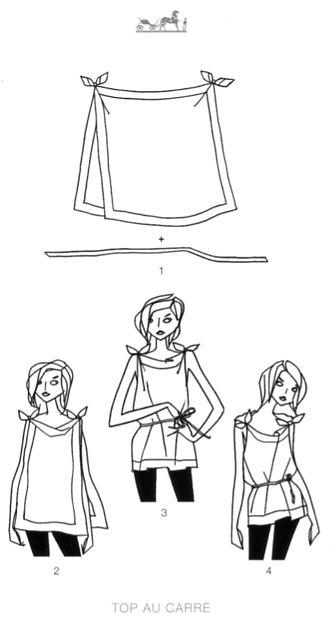 ways to tie scarves