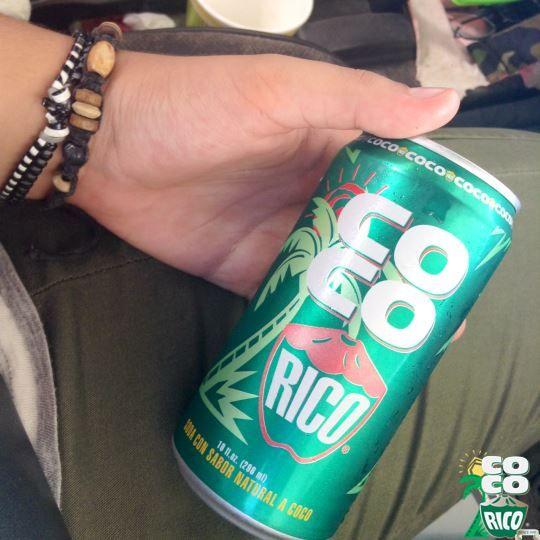 Saborea nuestra bebida con un auténtico sabor a coco. #CocoRicoPR #PuertoRico #Coco #Refrescante #Sabroso #MiFavorito