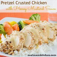 Crusted Chicken with Honey Mustard Sauce | Winner, winner, chicken ...