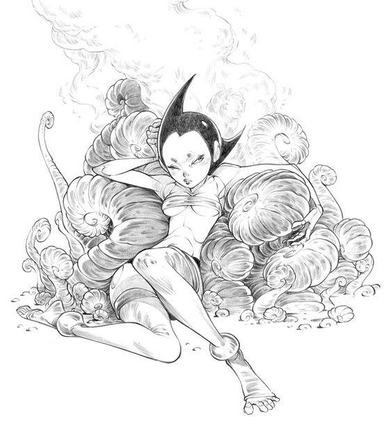 illustrator Alessandro Barbucci
