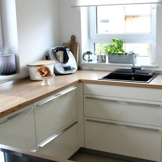 Entdeckt die schönsten Inspirationen und Ideen weißer Küchen mit - u förmige küchen