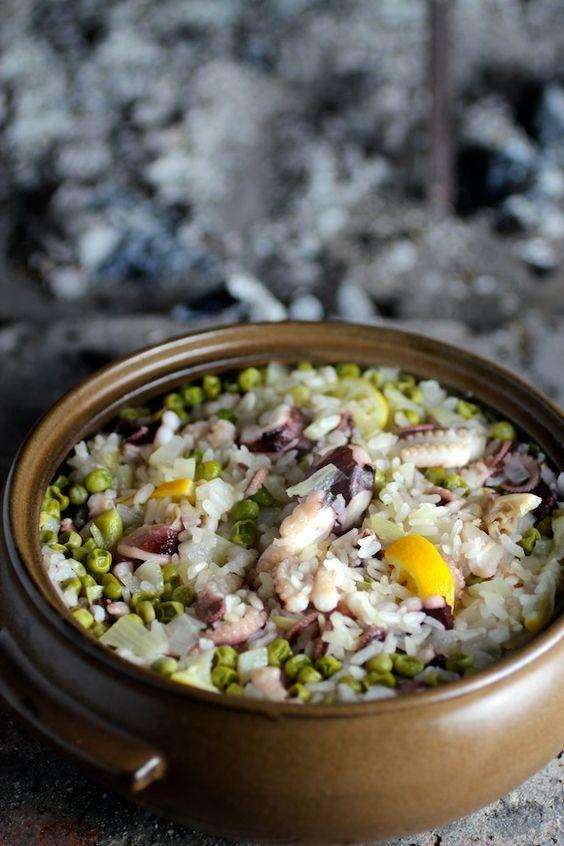 ... Meyer Lemon, Peas, Fennel, Onion, Lemon Olive Oil, Basil, Black Pepper