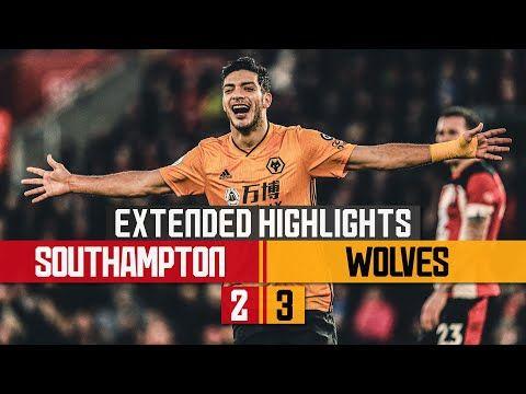 Jimenez Breaks Wolves Scoring Record Southampton 2 3 Wolves Extended Highlights Youtube En 2020