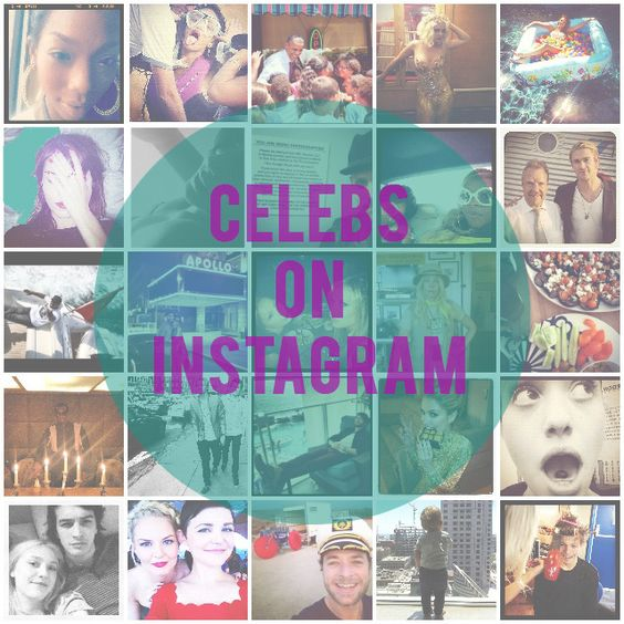 Celebs on Instagram: 100 famous people you should follow