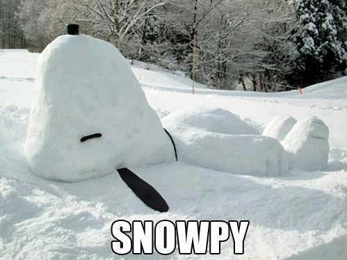 Snow-Dog WIN - Gotta love Snoopy! :):