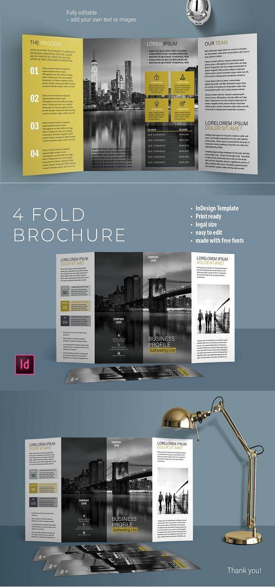 Awesome New Psd Tri Fold Bi Fold Brochures Templates Corporate Design Brochure Layout Bi Fold Brochure