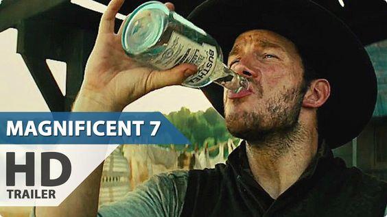 The Magnificent Seven Trailer (2016) Chris Pratt, Denzel Washington Movi...