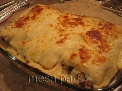 receitas goianas: Lasanha de frango ao molho branco com presunto
