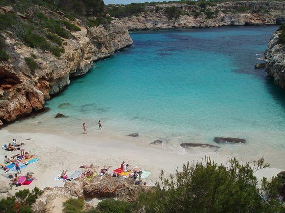Caló des Moro. Mallorca
