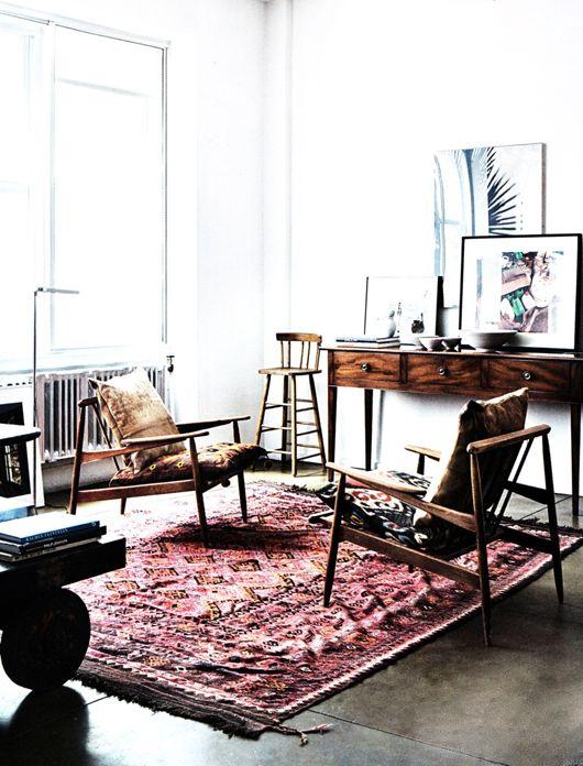 That rug! #livingroom