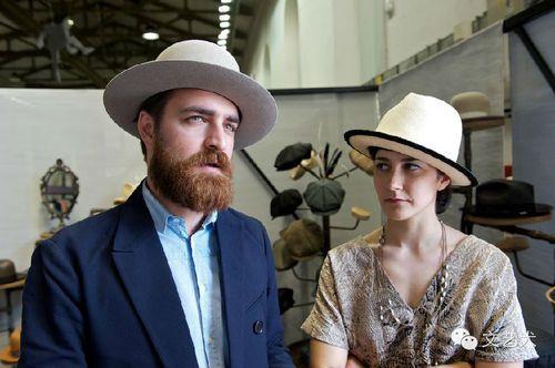Matteo Gioli & Veronica Cornacchini of Superduper Hats