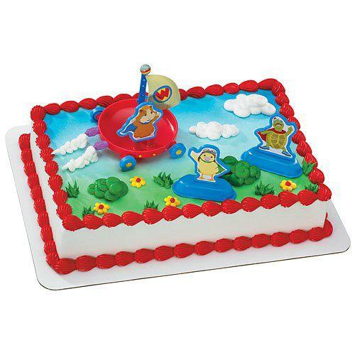 Wonder Pets Cake Toppers 4 Count Animal Cake Topper Wonder