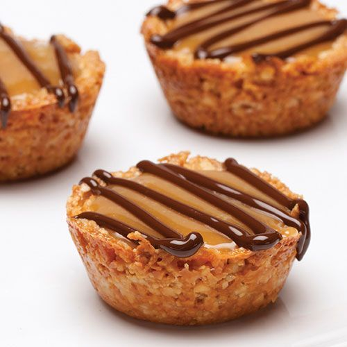 Caramel-Filled Cashew Cups - Recipes | Pampered Chef US Site